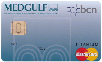 BCN Medgulf Titanium Credit Card