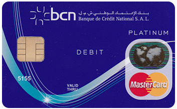 MCU Platinum Debit Card